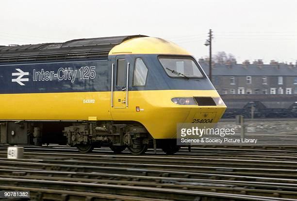 Photograph of a High Speed Train by a National Railway Museum photographer