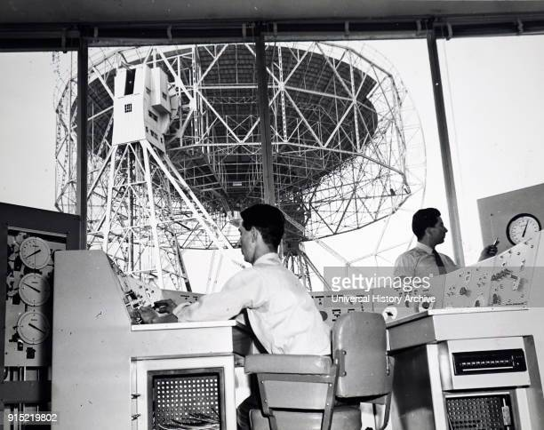 Photograph of a radio telescope control room A radio telescope is a specialised antenna and radio receiver used to receive radio waves from...