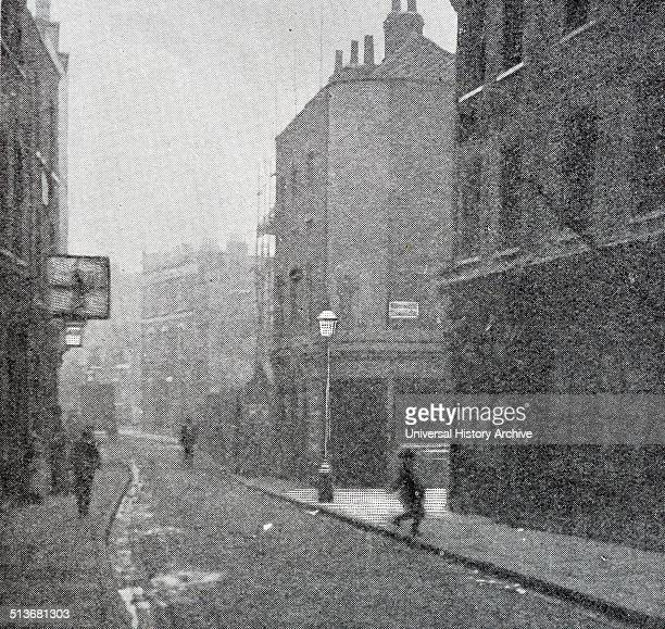 Photograph of a street in Clerkenwell an area of central London in the London Borough of Islington It was an ancient parish and from 1900 to 1965...