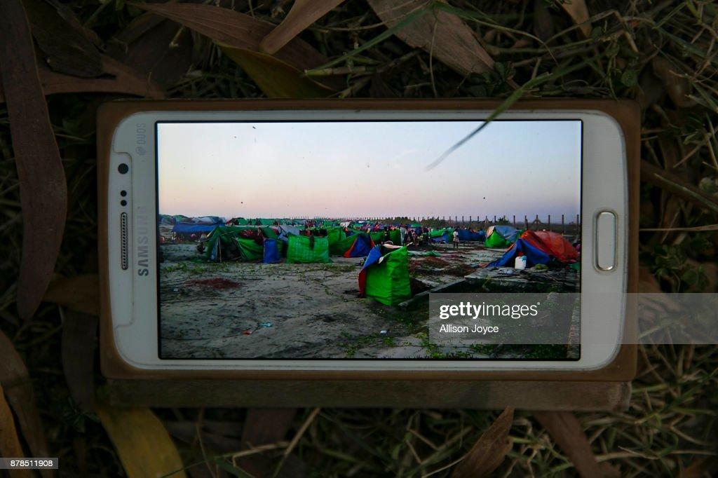 Myanmar's Rohingya Refugees Flood Into Bangladesh : News Photo