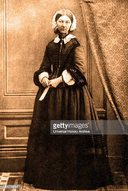 A photograph of a young Florence Nightingale the founder of modern nursing as well as a celebrated English social reformer and statistician She was...