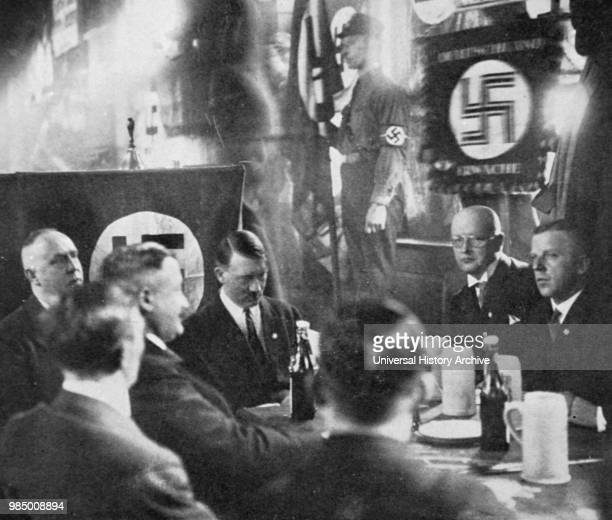 Photograph of Adolf Hitler Austrianborn German politician who was the leader of the Nazi party and Chancellor of Germany Dated 20th Century
