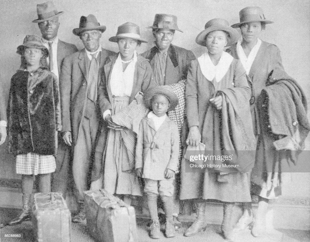 African American Migrants : News Photo