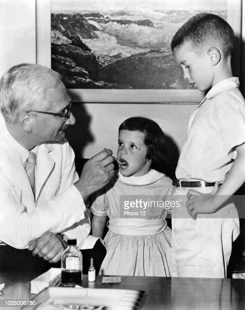 Photograph of Albert Bruce Sabin a Jewish Polish American medical researcher best known for having developed an oral polio vaccine Dr Albert Sabin is...