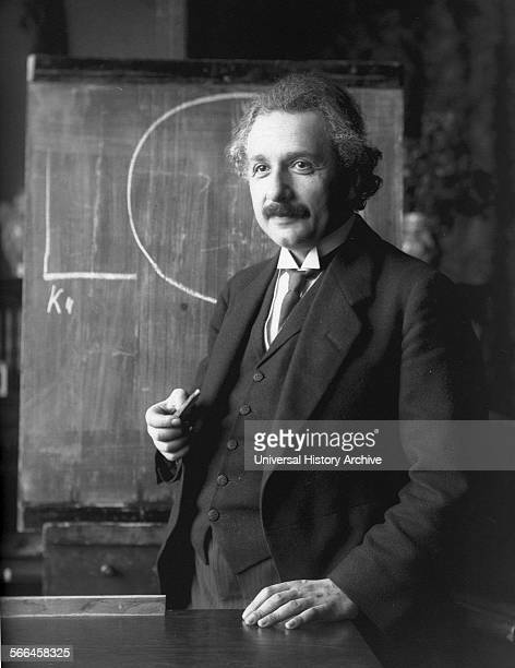 Photograph of Albert Einstein Germanborn theoretical physicist and philosopher of science Dated 1921