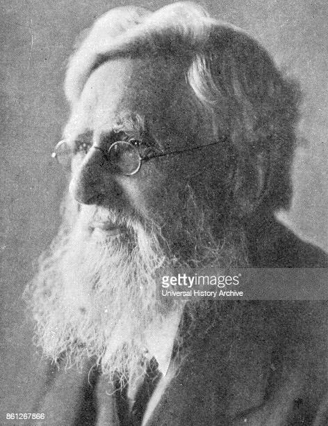 Photograph of Alfred Russel Wallace a British naturalist explorer geographer anthropologist and biologist Dated 20th Century