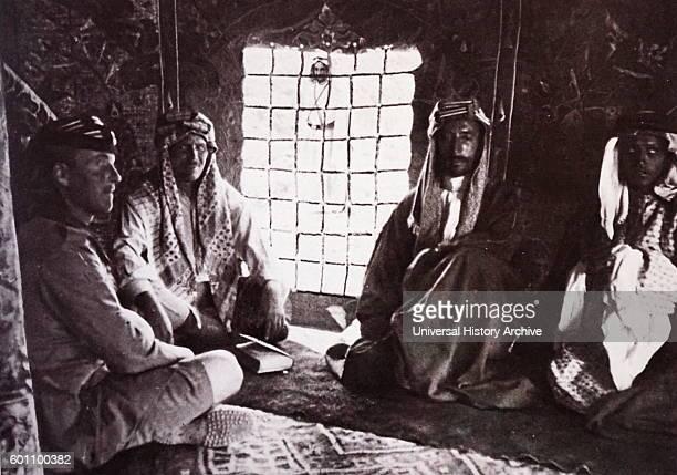 Photograph of Ali bin Hussein King of Hejaz and Grand Sharif of Mecca Dated 20th Century