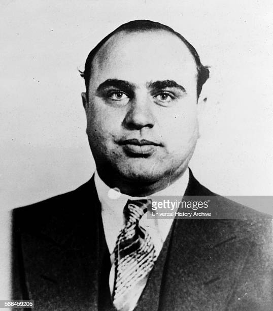 Photograph of Alphonse Gabriel Al Capone Infamous American gangster who attained fame during the Prohibition era in America Dated 1945
