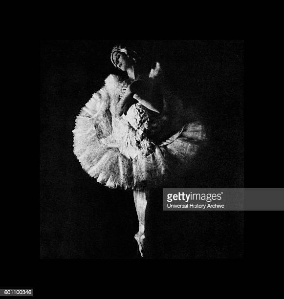 Photograph of Anna Pavlova a Russian prima ballerina Dated 20th Century