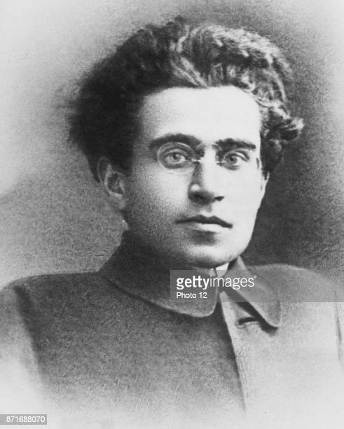 Photograph of Antonio Gramsci Italian Marxist theoretician and politician He wrote on political theory sociology and linguistics Dated 1935