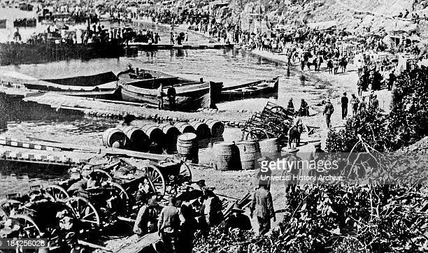 Photograph of Anzac Cove a small cove on the Gallipoli peninsula in Turkey It became famous as the site of World War I landing of the ANZAC on 25...