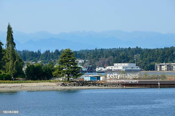 photograph of Bainbridge island, Seattle