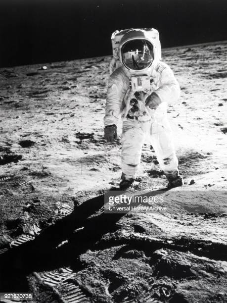 Photograph of Buzz Aldrin an American engineer and former astronaut As the Lunar Module Pilot on Apollo 11 he was one of the first two humans to land...