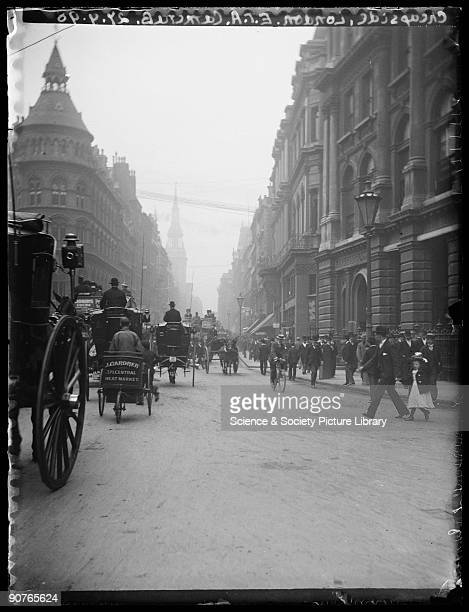 A photograph of Cheapside in London taken by Edgar Tarry Adams on 27 August 1898 Edgar Tarry Adams was a wealthy and dedicated amateur photographer...
