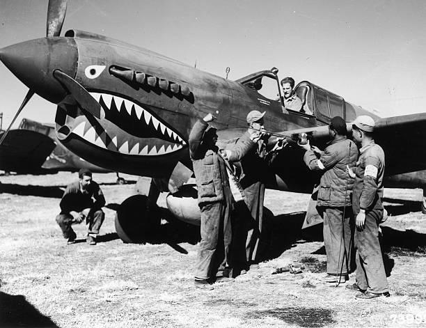 Flying Tigers Wall Art