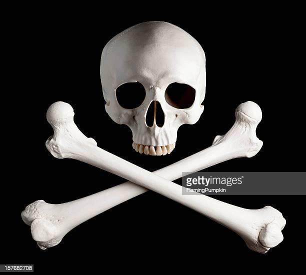 Photograph of Classic Pirate Skull and Crossbones.