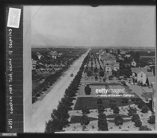 Photograph of Colorado Street Pasadena Pasadena California 1886