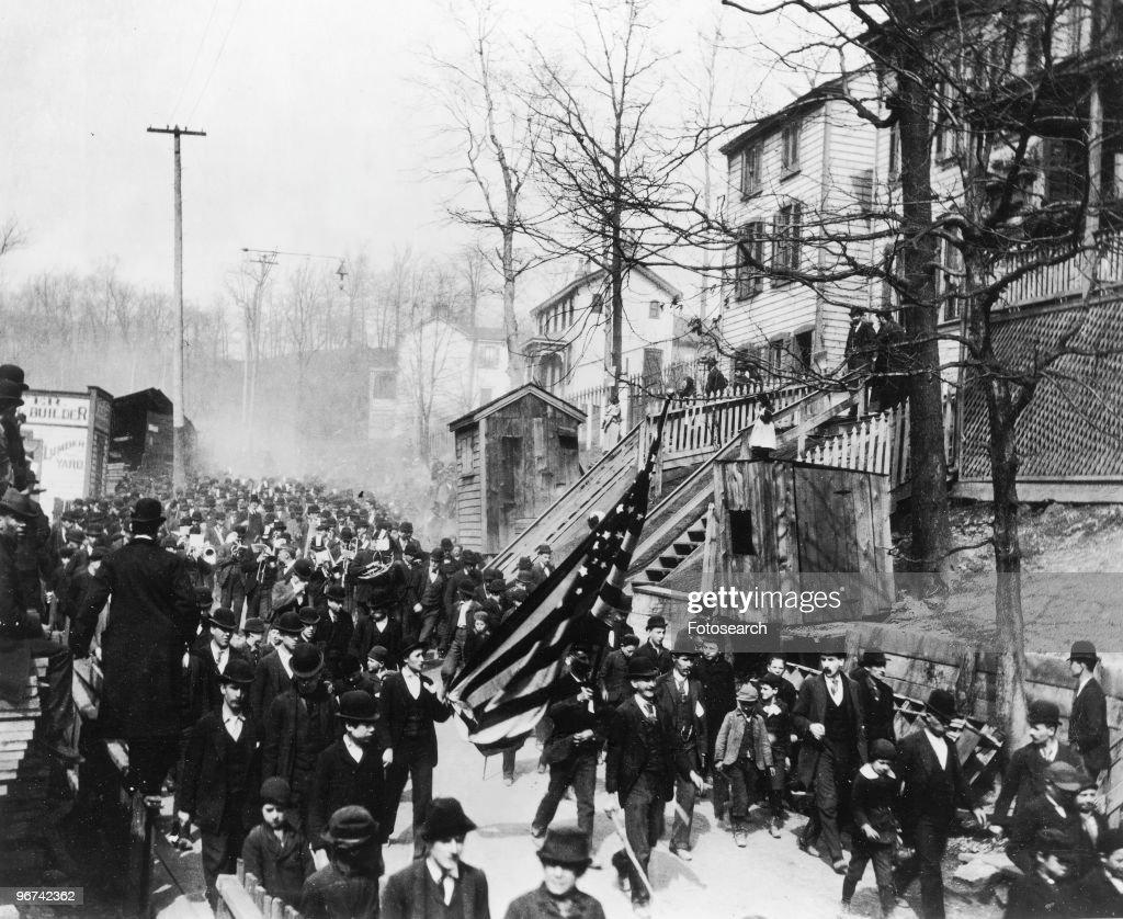 Coxey's Army : News Photo
