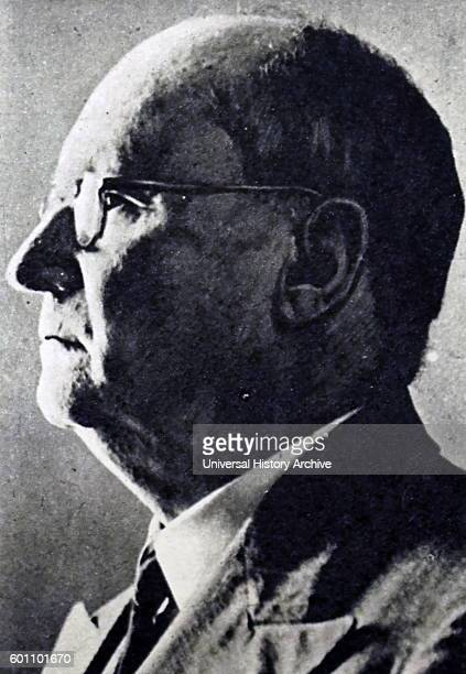 Photograph of Daniel Francois Malan a South African politician and Prime Minister of South Africa Dated 20th Century
