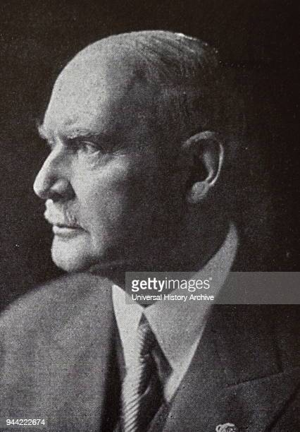 Photograph of Dr Theodor Lewald was a civil servant in the German Reich and an executive of the International Olympic Committee He was the President...