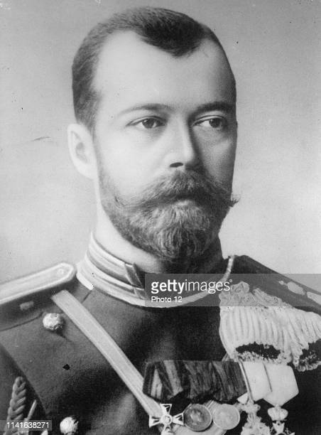 Photograph of Emperor Nicholas the II the last Tsar of Russia May 18 1868 July 17 1918