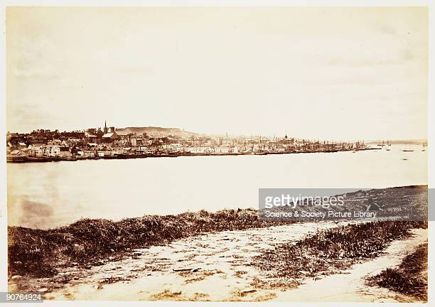 A photograph of Halifax Nova Scotia Canada taken by William McFarlane Notman in 1860 during the Royal Visit to Canada of Albert Prince of Wales the...