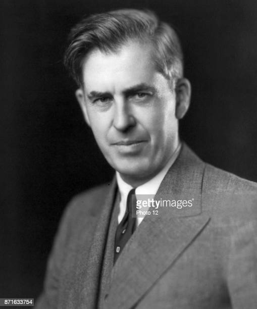 Photograph of Henry A Wallace Vice President of the United States the Secretary of Agriculture and the Secretary of Commerce Dated 1942