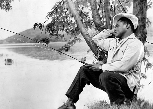 Henry Armstrong Fishing
