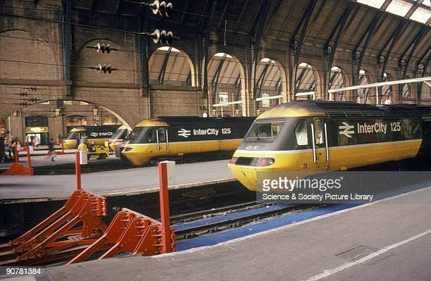 Photograph of High Speed Trains by a National Railway Museum photographer.