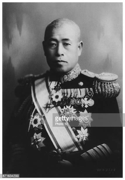 Photograph of Isoroku Yamamoto Japanese Marshal Admiral and the commanderinchief of the Combined Fleet during World War II Dated 1942