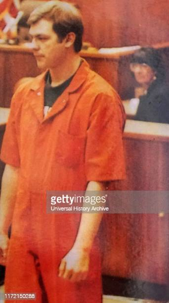 Photograph of Jeffrey Dahmer taken during his trial Jeffrey Lionel Dahmer an American serial killer and sex offender who was convicted of the rape...