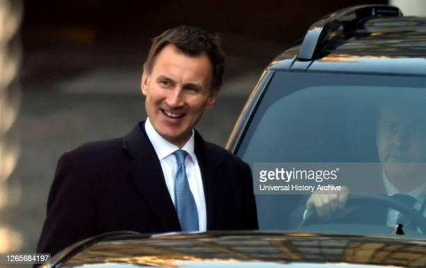 Photograph of Jeremy Hunt. Jeremy Richard Streynsham Hunt a British politician serving as the Member of Parliament for South West Surrey since 2005.
