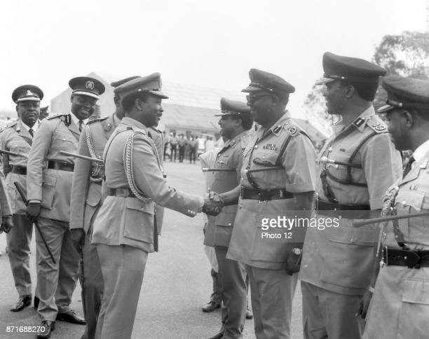 Photograph of Joseph Dechi Gomwalk Nigerian police commissioner and the first Military Governor of BenuePlateau State Dated 1966