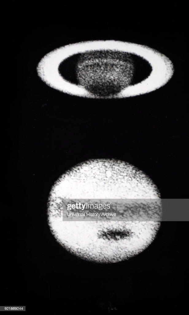 Jupiter and Saturn. : News Photo