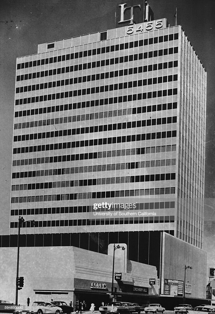 Lee Tower 5455 Wilshire Blvd Los Angeles 1961 News Photo