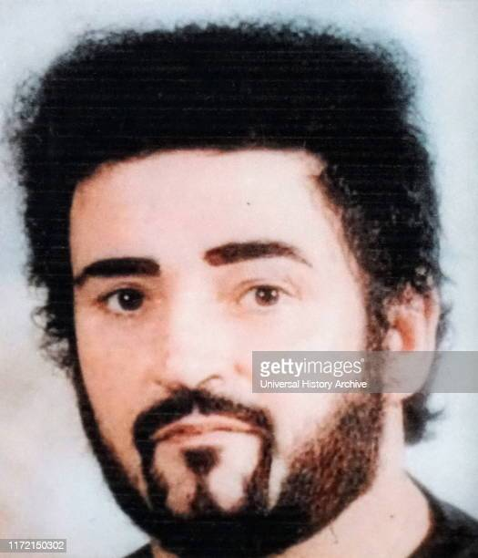 """Photograph of Peter Sutcliffe an English serial killer who was dubbed the """"Yorkshire Ripper"""" by the press."""
