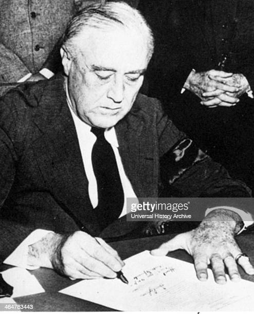 Photograph of President Roosevelt 1941
