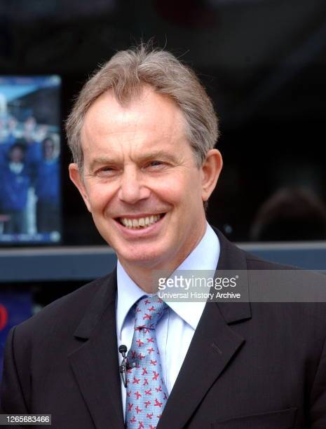 Photograph of Prime Minister Tony Blair. Anthony Charles Lynton Blair a British politician who served as Prime Minister of the United Kingdom from...