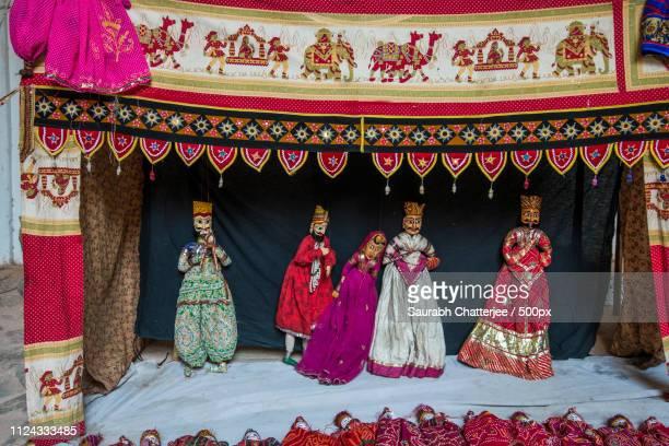 photograph of puppet show - espectáculo de marionetas fotografías e imágenes de stock