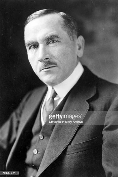 Photograph of Roman Dmowski Polish politician statesman and cofounder and chief ideologue of the rightwing National Democracy political movement...