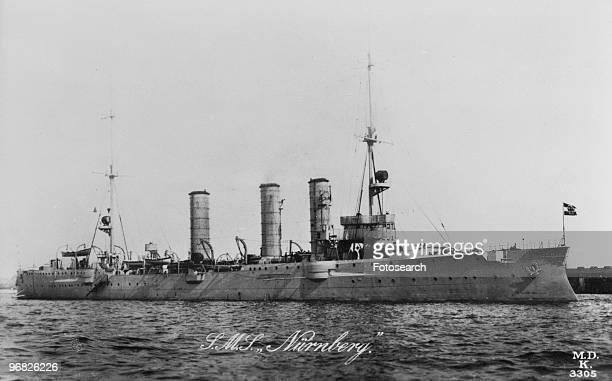 A Photograph of SM'S Nurnberg during the Falklands Island War circa 1914