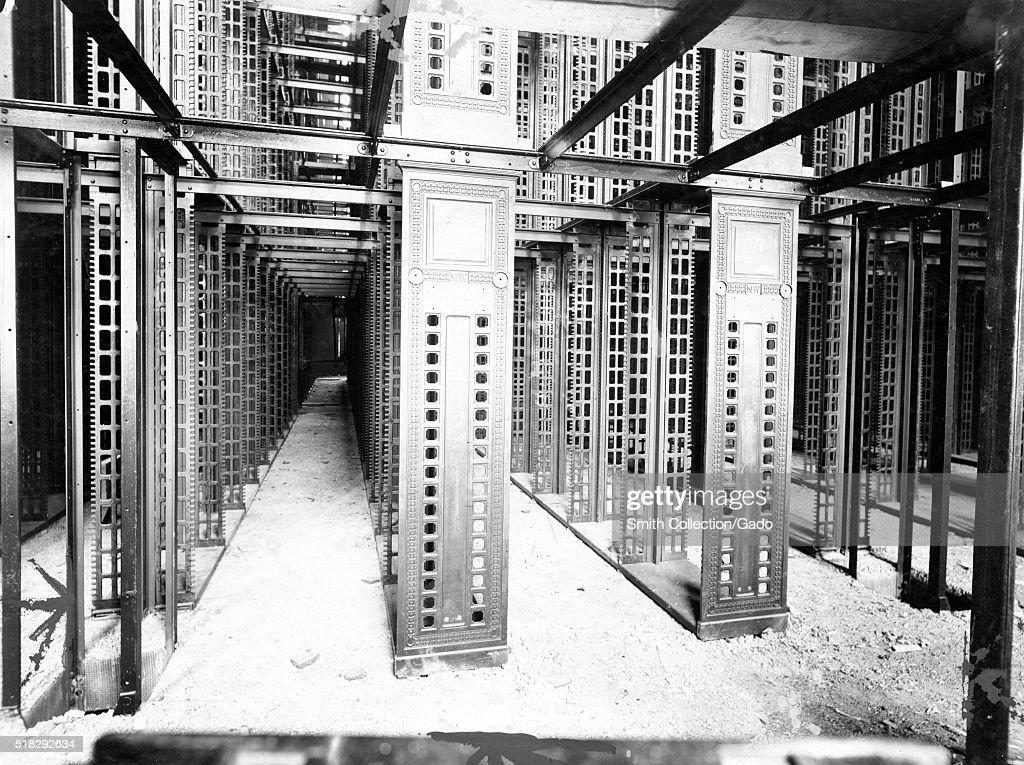 New York Public Library Stacks : News Photo