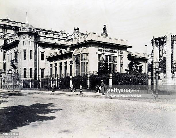 Photograph of the exterior of the Mariinsky Palace which was the residence of the ballerina Mathilde Kschessinska Kschessinska was the mistress of...