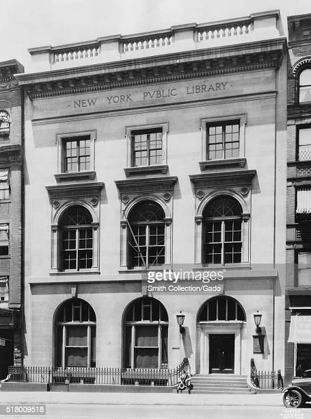 A photograph of the exterior of the St Agnes library it is a branch of the New York Public Library it was founded in 1893 as a parish library for St...