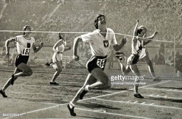 Photograph of the Ladies 100 meter race at the 1932 Olympic games Stanislawa Walasiewicz took home gold for Poland It was learnt that Walasiewicz had...