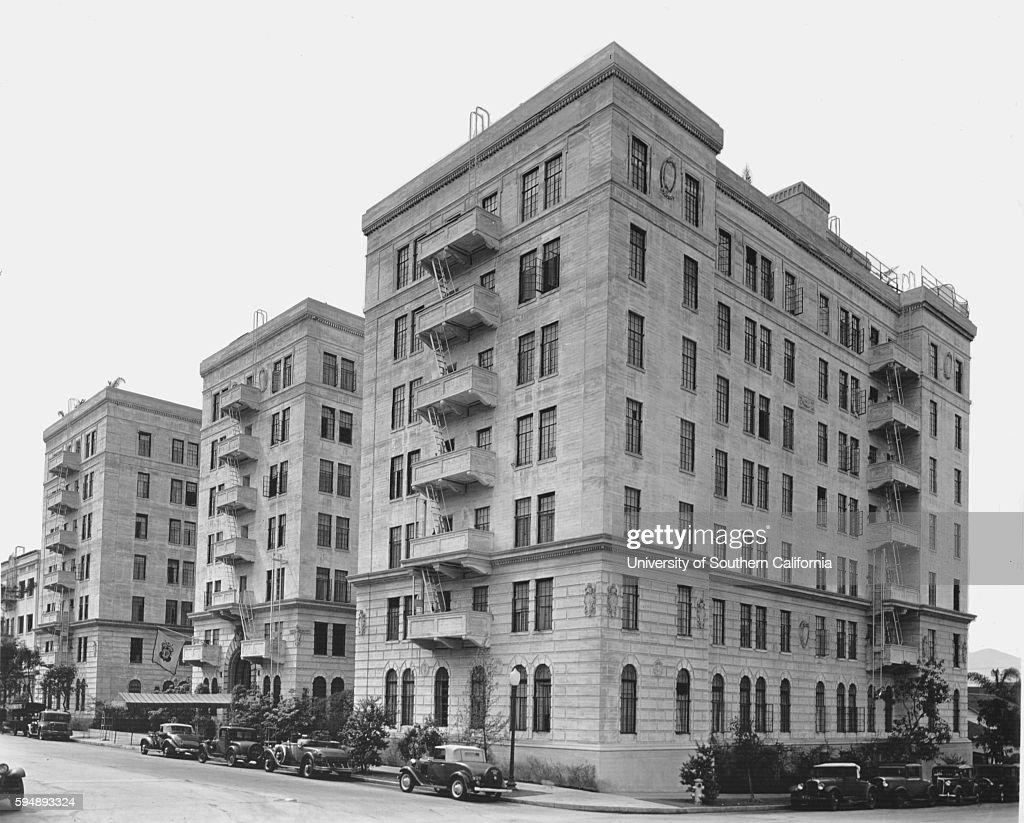 Langham Apartments Los Angeles 1936 News Photo