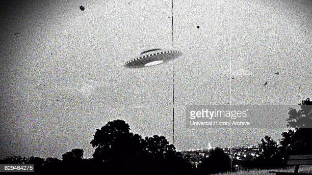 Photograph of the supposed Westall UFO encounter where more than 200 students and teachers at two Victorian state schools allegedly witnessed an...