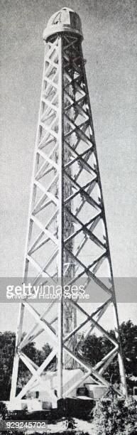 Photograph of the Tower Telescope used at Mt Wilson Observatory California Dated 20th Century