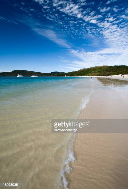 Photograph of the Whitehaven Beach