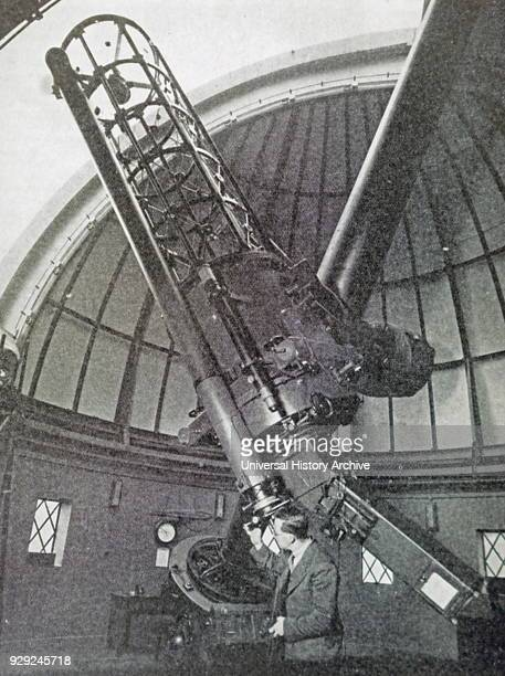 Photograph of The Yapp Dome and Telescope presented by William Johnstone Yapp Dated 20th Century